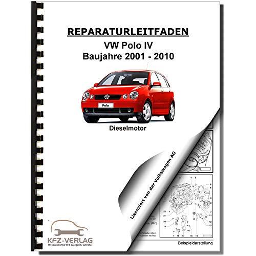 VW Polo 4 Typ 9N (01-10) 3-Zyl 1,4l Dieselmotor 68-80 PS TDI Reparaturanleitung