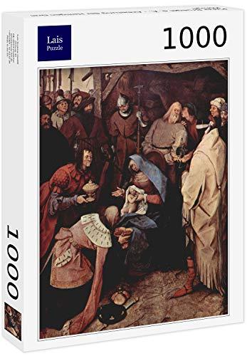 Lais Puzzle Pieter Bruegel el Viejo - Adoración de los Reyes Magos 1000 Piezas