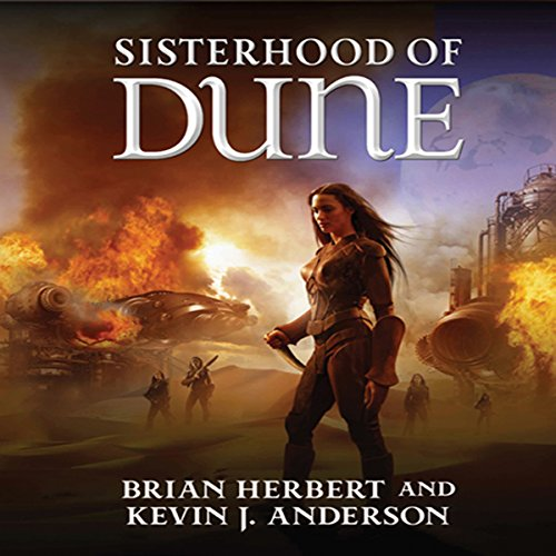 Sisterhood of Dune audiobook cover art