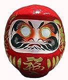 """Japonés buena suerte Daruma, rojo para """"buena suerte en todo ', 15 cm..."""