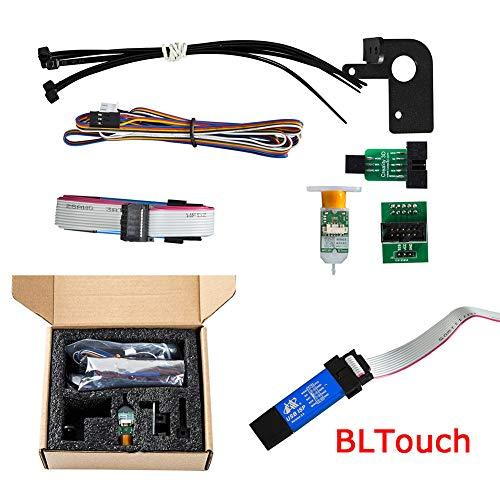 Alicer Partie 3D Imprimante Auto Press Bed Kit de mise à niveau DIY BL-Touch Auto Leveling Kit d'imprimante 3D pour CR-10 / pour CR-10S PRO/Ender-3, As Show, Free Size