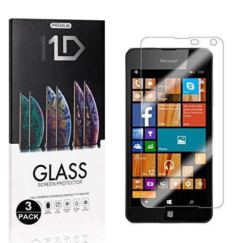 Bear Village® Protector de Pantalla para Microsoft Lumia 650, 9H Vidrio Templado...