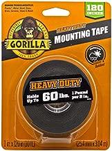 Gorilla Heavy Duty Double Sided Mounting Tape XL, 1