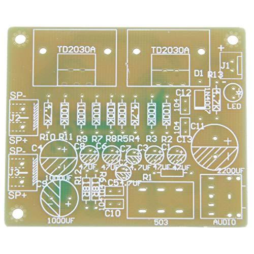 Wivarra Doble canal TDA2030A Kit DIY amplificador de potencia para