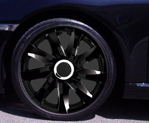 Radkappen DRIFT schwarz 14 Zoll Peugeot 106, 107, 1007, 205, 206, 306, 309, 405, Partner