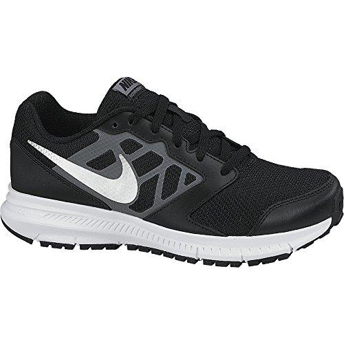 Nike Downshifter 6, Scarpe Running Unisex – Bambini, Nero (Black/Metallic Silver-Cool...