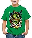 style3 Tortuga Ninja Camiseta para Niños T-Shirt Mutantes Comic...