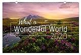 What a wonderful World 2020 - Kalender, Wandkalender, Landschaftskalender, XXL, Naturkalender