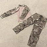 Uniforme Combat Airsoft a-TACS AU árido Talla S Completo Camiseta y pantalón, Airsoft, Militar, Paintball con rodiclleras