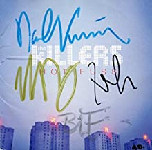 killers signed cd