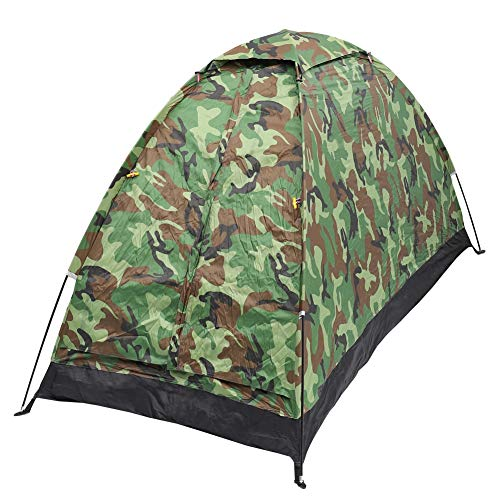 AIBOOSTPRO Single Camouflage Camping Zelt Geeignet für Picknick Park Camping und andere Freizeitaktivitäten im Freien