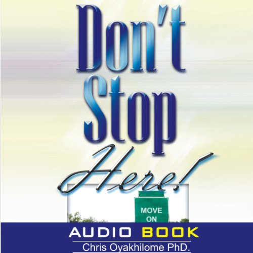 Don't Stop Here audiobook cover art