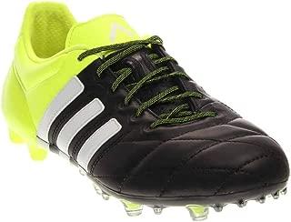 adidas ACE 15.1 FG Leather [CBLACK/FTWWHT/Syello]