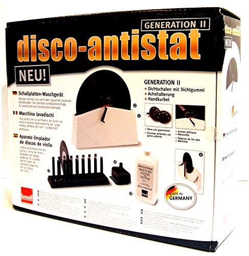 Knosti Disco Antistat MK II+ Plattenwaschmaschine Vinyl Cleaner 2. Generation