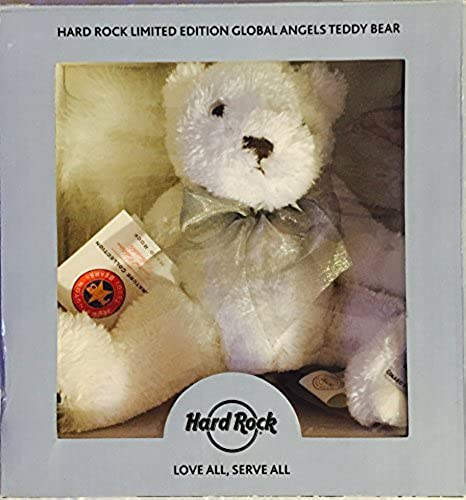 Hard Rock Limited Edition Global Angels Teddy Bear by Hard Rock Collection