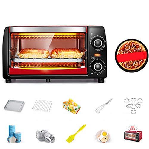 Forno Digitale, Display Da 12L Da 1050W, Scongelamento Automatico, Cuoco Rapido Rotante Con 6 Cotture Automatiche Preprogrammate, Forno a Microonde Solo Facile Da Pulire