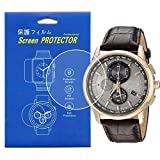[3-Pcs] Screen Protector For Citizen AT8113-04H,AT8110-61E Clear HD Film with Anti-Fingerprint, Anti-Bubble,Anti-Scratch
