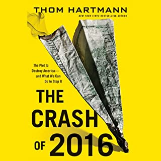 The Crash of 2016 audiobook cover art