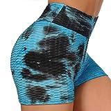 FITTOO Pantalones Cortos Leggings Mujer Mallas Yoga Alta Cintura Elásticos Push Up Suave