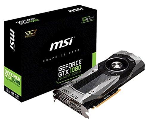 『MSI NVIDIA Pascalアーキテクチャー採用 GeForce GTX 1080搭載グラフィックボード GEFORCE GTX 1080 FOUNDERS EDITION』のトップ画像