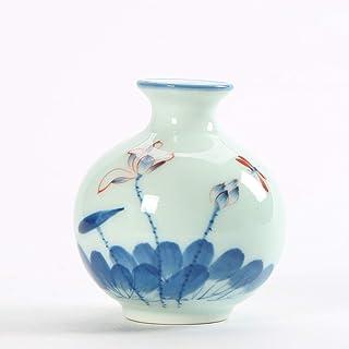 Ceramic Home Decoration Hydroponic Vase Japanese Style Flower Simple Modern Small Unique Exquisite Artwork Ceramic (Color ...