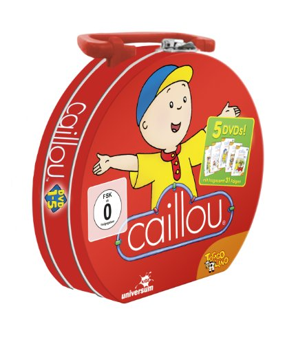 Caillou 01- 05 - Lunchbox [5 DVDs]