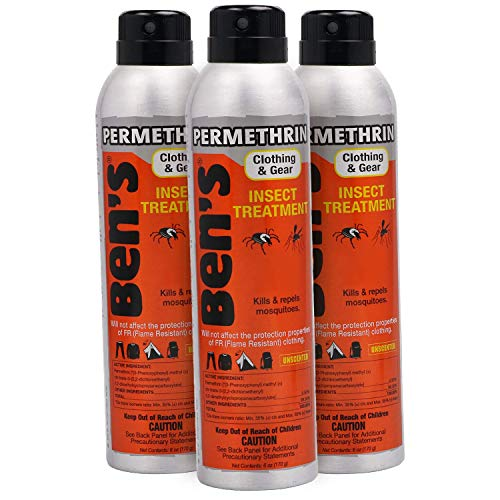 Ben's Clothing and Gear Bug Repellent (Pack of 3)