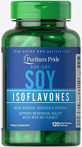 .Puritan's Pride SOY Isoflavones 120 Capsules 5