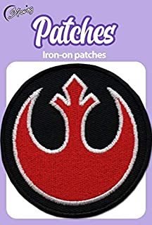 Iron On Patches - Rebel Alliance Patch Iron On Patch Embroidered Applique Miltacusa Star Wars Squadron Rebel Alliance Jedi Order Patch S-84