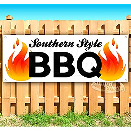 Southern Style 13 oz Banner Heavy-Duty Vinyl Single-Sided with Metal Grommets