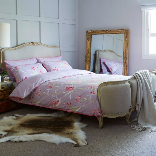 Textile Warehouse Ditton Hill Tilly Heather Floral Pink Polka Single Duvet Quilt Cover Bedding Set