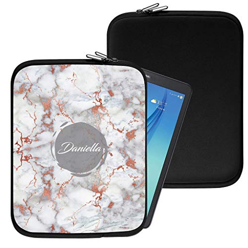 Personalisiert Marmor Neopren Tablethülle Case Tasche (99) für Huawei Mediapad X1 (7