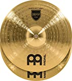 """Meinl 18"""" Marching Cymbal Pair with Straps - Brass Alloy Traditional Finish - Made In Ge..."""