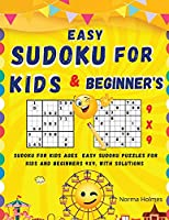 Easy Sudoku for Kids and Beginners: Worksheet Numbers and alphabet, simple math, Sudoku - dot-to-dot, coloring, English exercises, and more...