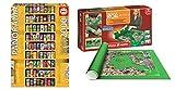 Outletdelocio. Pack Puzzle Educa 11053. Lata sobre Lata. Panoramico. 2000 Piezas + Tapete Puzzle Roll 2000 Piezas. 43110/64239