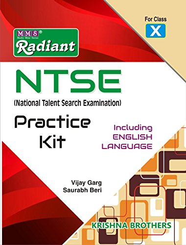 Radiant NTSE (National Talent Search Examination) Practice Kit For Class-10th