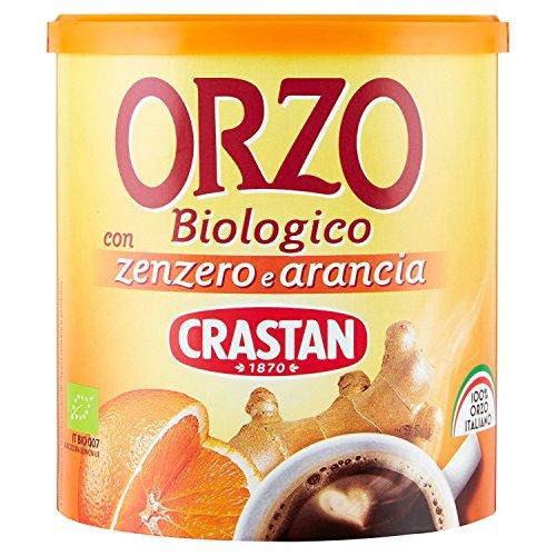 Crastan Orzo Solubile Biologico con Zenzero & Arancio - 120 Gr.