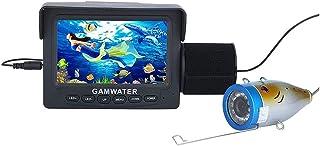 AFSDF Finder Fish HD 4.3 Pulgadas 1000 TVL Kit de cámara de Video bajo el Agua LED Luces de Video de Video