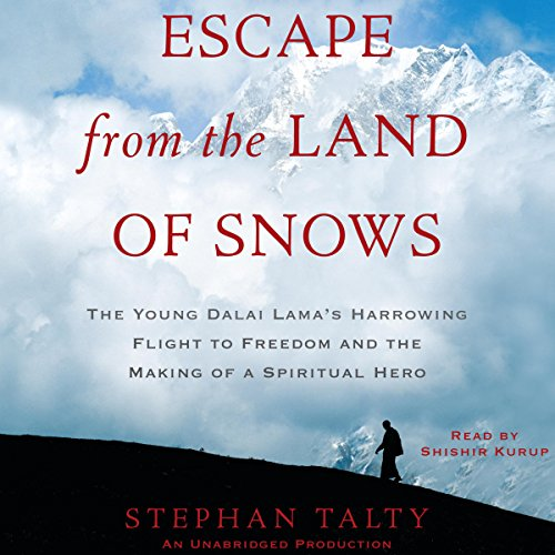 Escape from the Land of Snows audiobook cover art