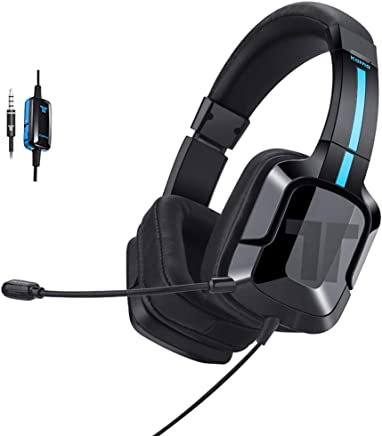 $29 » TRITTON Kama Plus Stereo Gaming Headset for PC, PS4, Xbox One, Noise Cancelling Gaming Headphone for Mac, Laptop, Nintendo Switch
