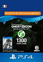 Ghost Recon Breakpoint - 1200 (+100) Ghost Coins 1300 Coins | Codice download per PS4 - Account italiano