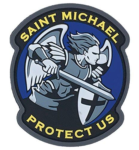 Saint Michael Modern PVC Patch