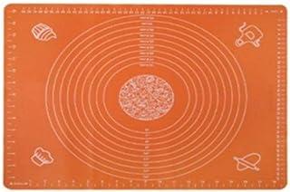 1 tapis de cuisson épais antiadhésif, pour pâtisserie, accessoires de pâtisserie, Fédération russe, orange, 13 x 10 x 2 cm
