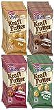 Dr. Oetker Vitalis Kraftfutter im 20er Probier-Set - Pausen Snack und Fingerfood mit Protein und Müsli Crunches in unseren Sorten Pur, Schoko, Cranberry und Mandel-Nuss