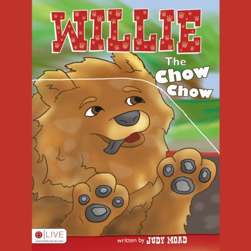 Willie the Chow Chow audiobook cover art
