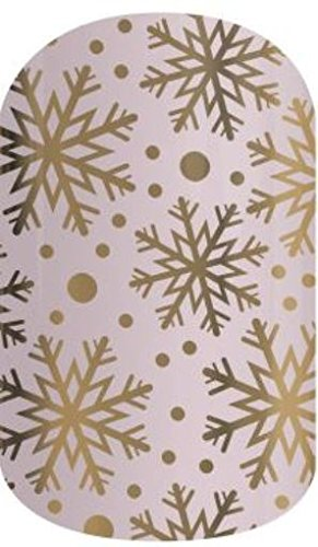 Jamberry Nail Wraps – Champagne Frost (Half Sheet)