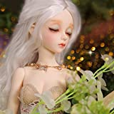 GHDE&MD BJD Doll 1/4 SD Dolls Ball Jointed Doll DIY Toys with Full Set Clothes Shoes Wig Makeup Best Gift for Girls-(Minifee)