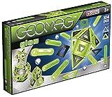 Geomag- Glow Construcciones magnéticas y Juegos educativos, Multicolor, 104 Piezas (337)