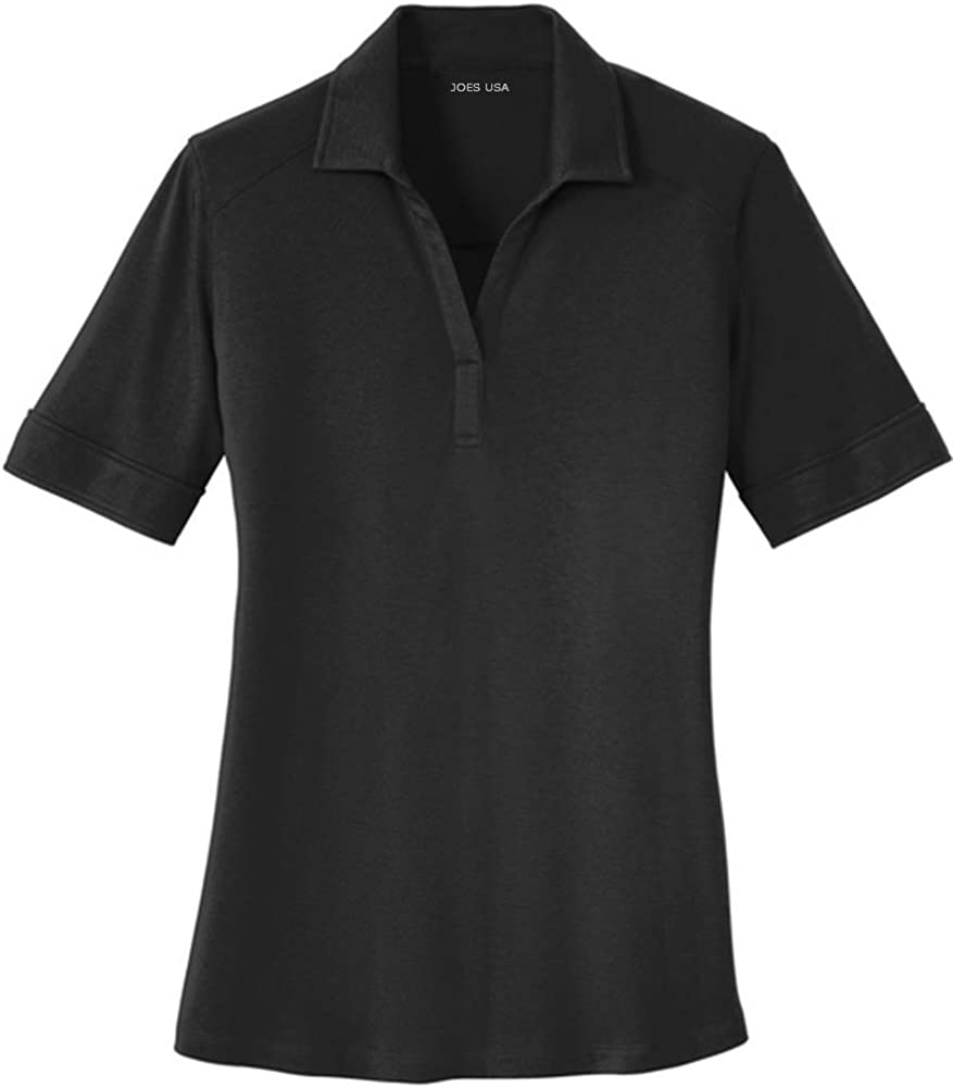 Ladies Silk Low price Touch Interlock Performance XS-4XL Sizes in Denver Mall Polo