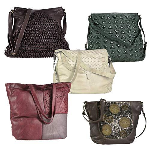 Speciale posten 5 stuks leer merk tassen damestassen handtassen magazijnopruiming nieuwe goederen handelaarspakket wederverkoper